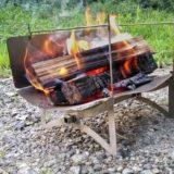 キャンプ初心者でも使いやすい焚き火台「tawamure 1号」は3ステップで簡単組み立て!
