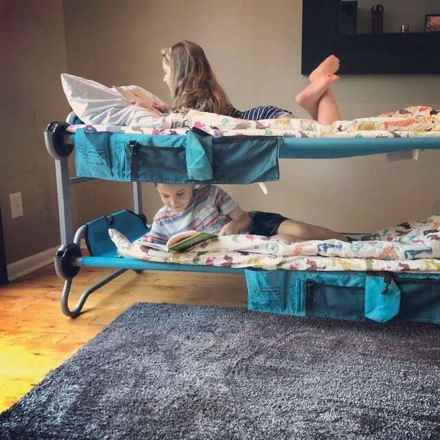 多機能ポータブル2段ベッド