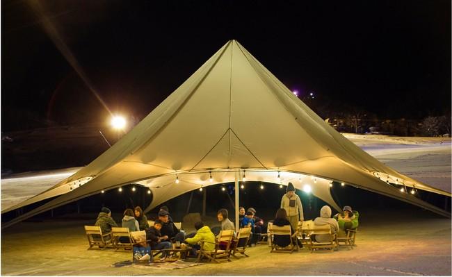 スノーリゾート岐阜県奥美濃『ダイナランド』は都心から90分! 開放的な大自然の中で、毎日23時まで楽しめる!