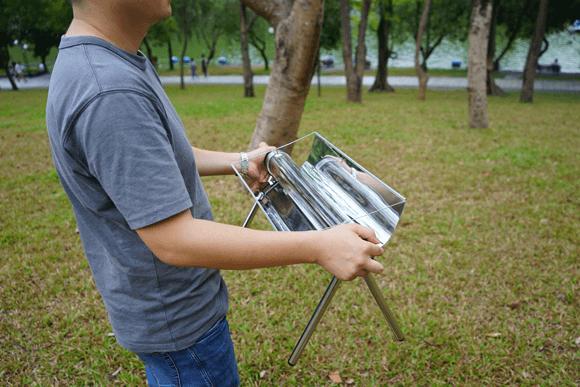 超軽量ソーラークッカー「Sunnico(サンニコ)」