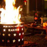 「Brennholz」の焚き火台はキャンプ場で一際目立つハイセンスなデザイン!