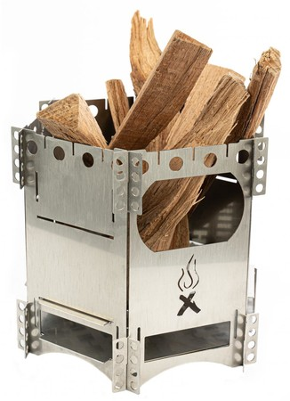 コンパクト焚き火台「FlexFire」