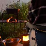 暖かい折りたたみ椅子「HOTパタットセット」でキャンプや流星群観測に!
