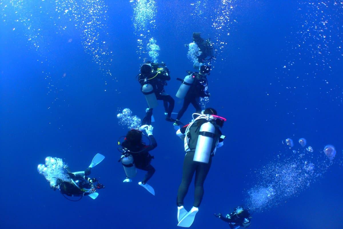 ダイビング 減圧
