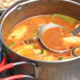 冬キャンプはご馳走スープで温まろう!リメイクも楽しめる簡単おすすめレシピ