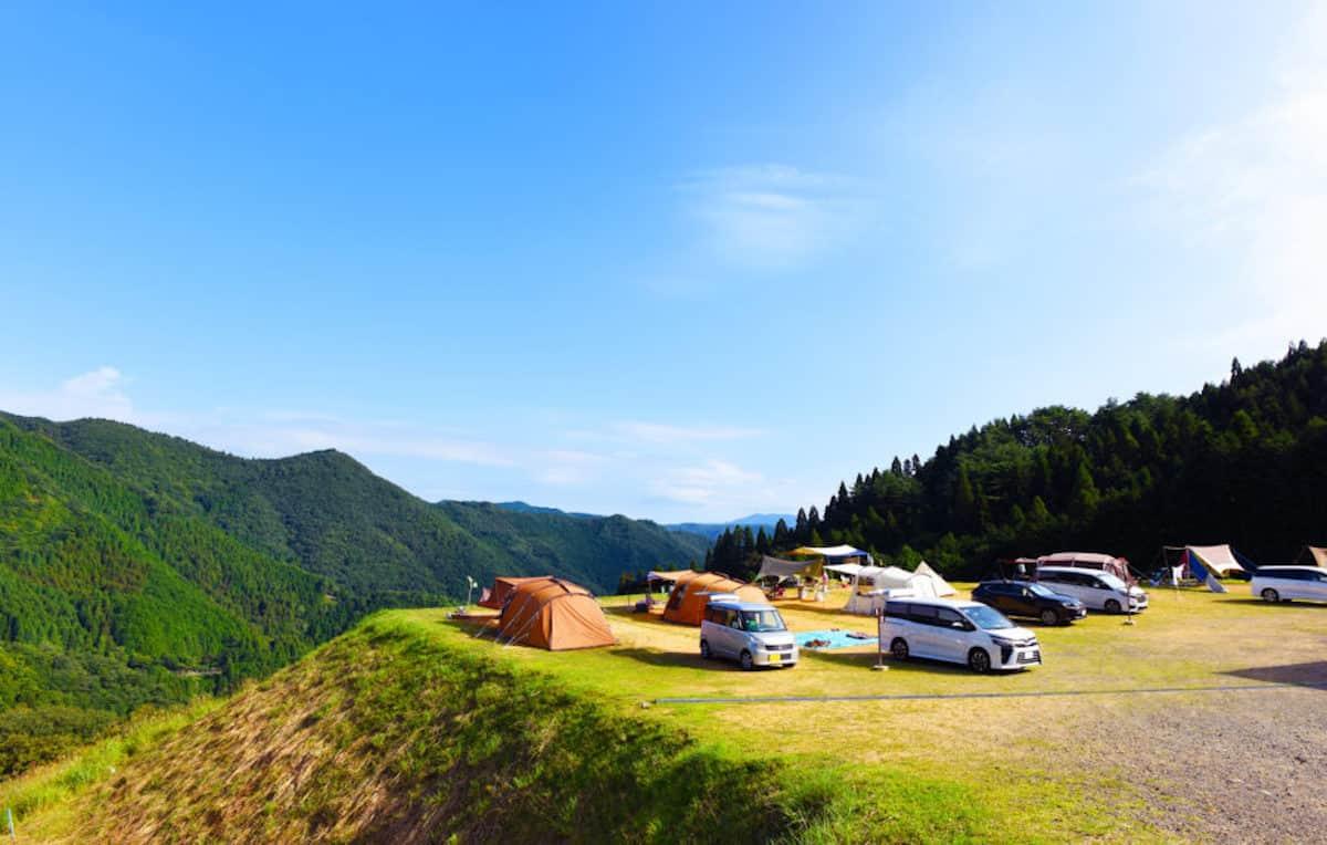 冬キャンプ 関西