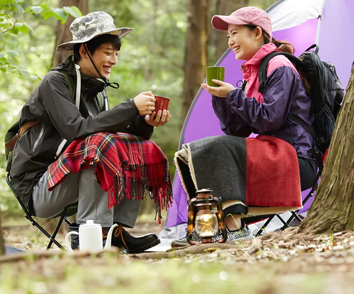 冬 キャンプ マグカップ