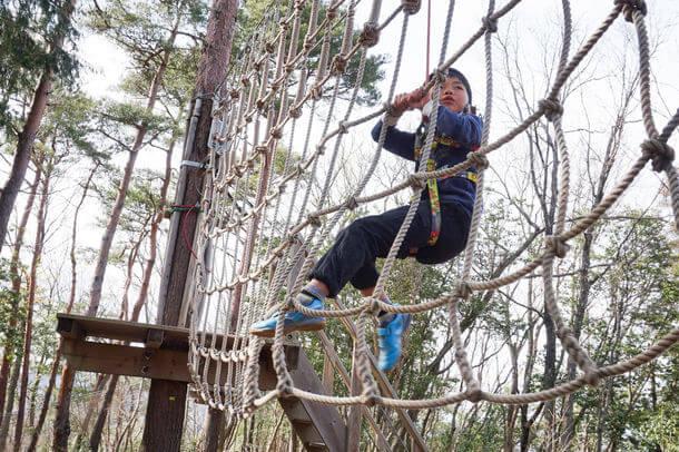 冒険の森で貸切アドベンチャー!冒険の森 in のせ・冒険の森 in おうじで開催「混雑がなく、換気の良い、安心安全な外遊び。冬こそ冒険を」