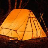 煙突穴付きのテント「スノートレッカーテント」は冬キャンプで大注目