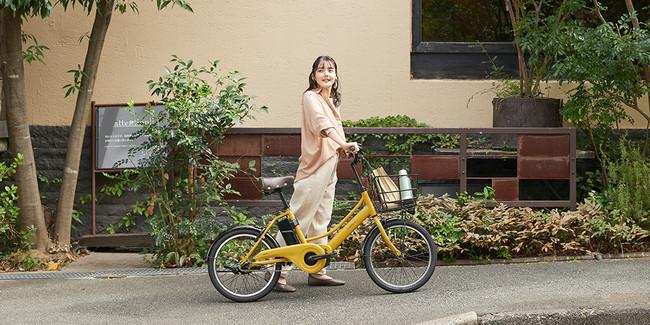 電動アシスト自転車「エナシスコンパクト」は都心の暮らしにフィットするコンパクトな電動アシスト自転車