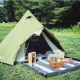 Colemanのナチュラルカラーを採用したテント・タープのラインナップならキャンプデビューにぴったり!