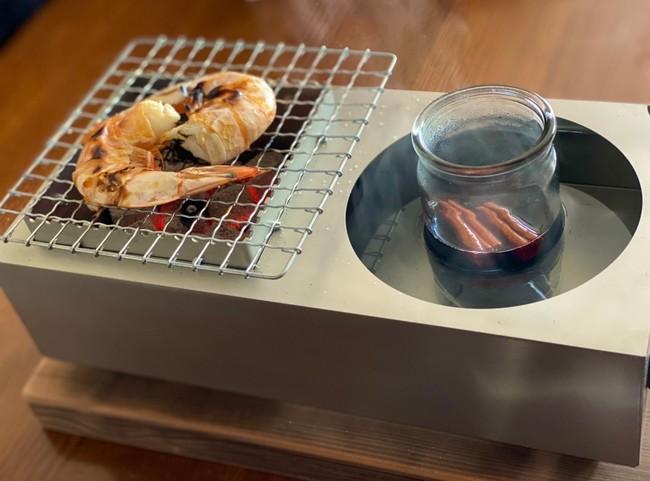 小型炭火調理器具「chibi chibi」