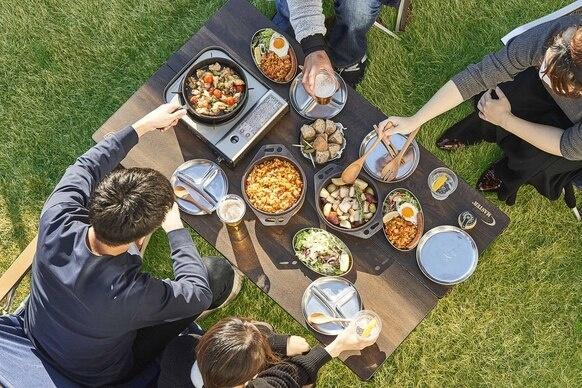 「マルチパン」は蓋と鍋の両方の使い方ができる「世界一お肉がおいしく焼けるフライパン」おもいのフライパンシリーズ