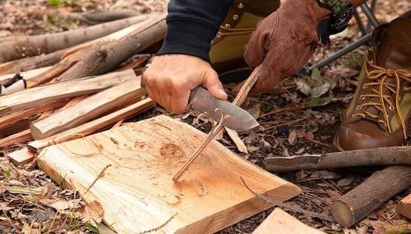 キャンプ専用ナイフ「EIJIN」