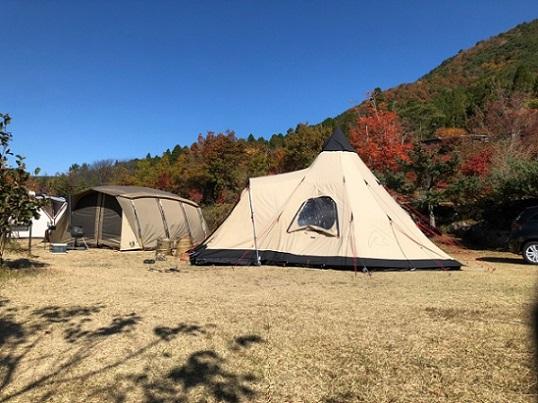 冬キャンプ 2ルームテント