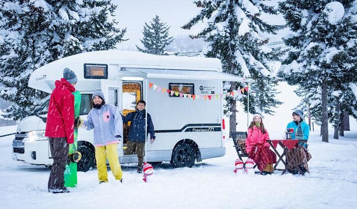 アルツ磐梯×キャンピングカー「レンタルキャンピングカーでスキー場満喫プラン」登場