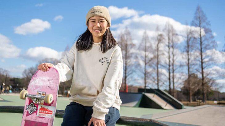 【織田夢海】伸び盛りでの五輪延期でメダル獲得も視野に。期待の中学生スケートボーダー〜取材記Part3