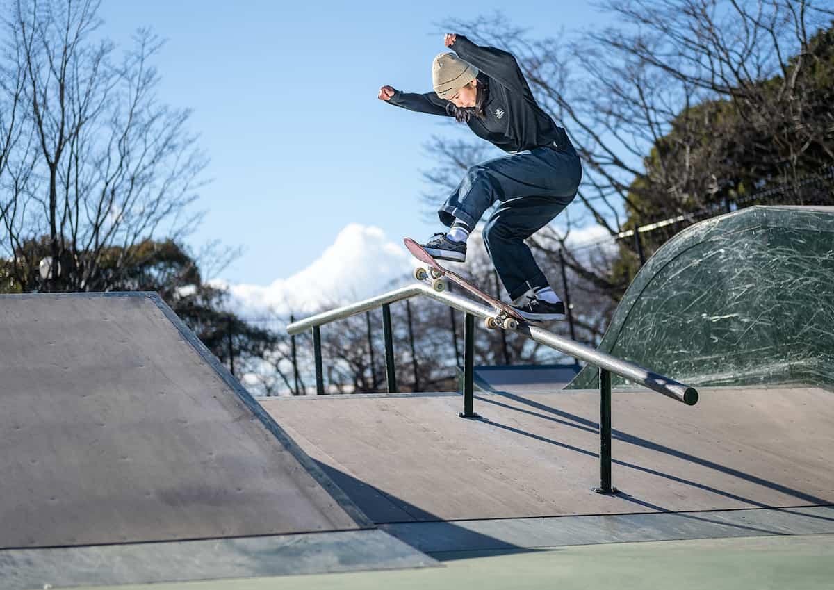 スケートボード 織田夢海