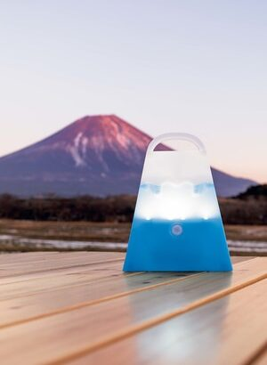 BE-PAL3月号の特別付録は、家でもキャンプでも大活躍の「人感センサー富士山LEDランタン」