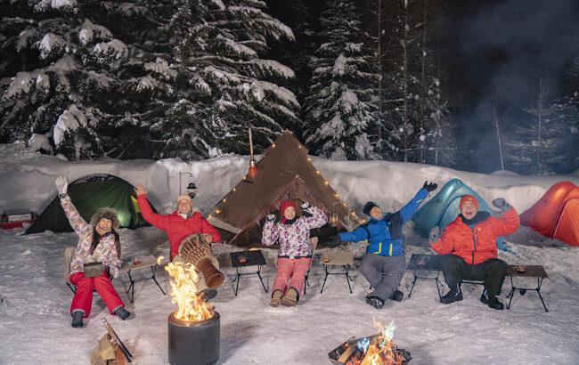「北海道で雪中キャンプ!ばえキャン」2月20日(土)午前10時30分に全国放送