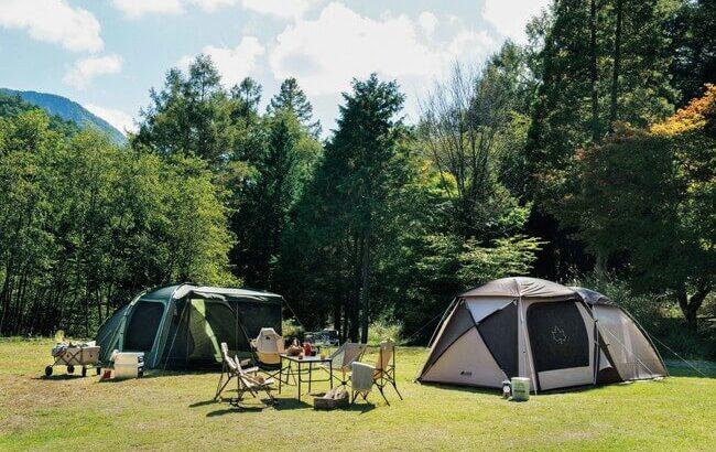 LOGOSを代表する2ルームテントが新色で登場「Tradcanvas PANELドゥーブルXL」新発売