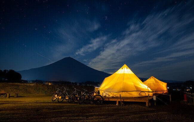 プライベートグランピング「MT. FUJI SATOYAMA VACATION」富士宮に3月22日オープン