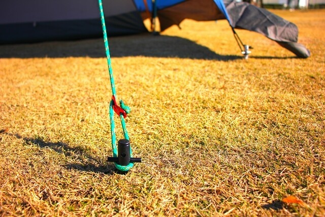 キャンプ用ジュラルミンペグ「Flepeg」