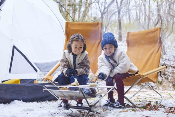 リゾナーレ那須「家族で楽しむ冬のガーデンキャンプデビュー」