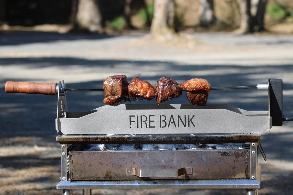 自動回転式肉焼き器「肉グル」