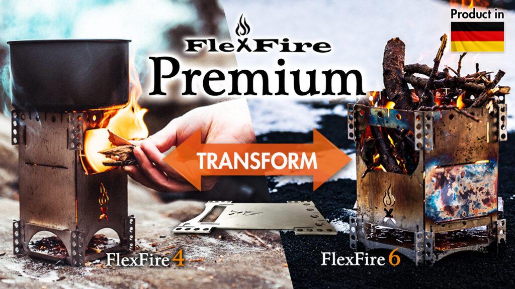 焚火台「FlexFire Premium」
