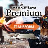 焚火台「FlexFire Premium」はドイツ製の極薄コンパクト携帯型