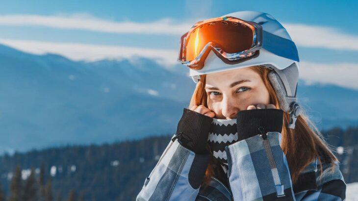スキー フェイスマスク