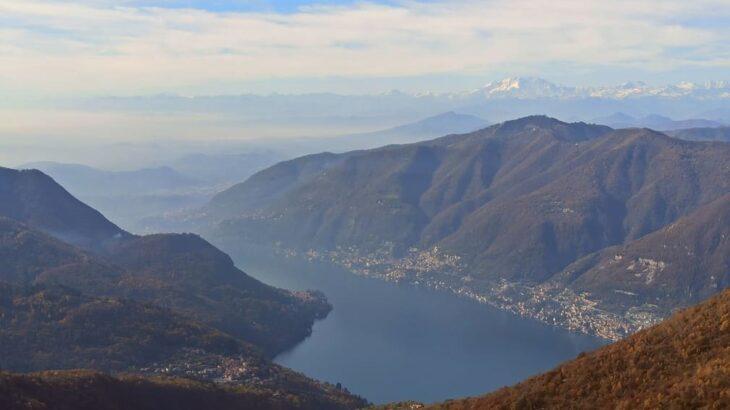 【イタリア・登山体験記】コモ湖周辺の山々が一望できる絶景スポット「パランツォーネ山」へトレッキング!