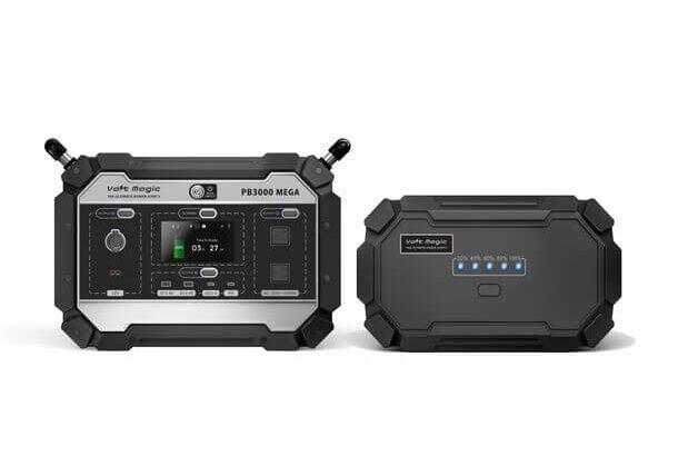 大出力2000W対応の大容量ポータブルバッテリー 「ボルトマジックPB3000メガ」はアウトドアで電子レンジ、電気ポットも使用可能!