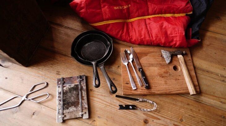 要点はさびとカビのたった2つ!キャンプ道具のメンテナンス方法を徹底解説します