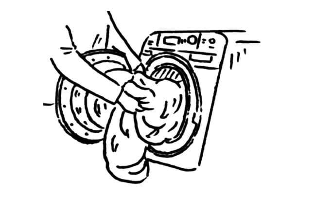 LOGOS「丸洗い寝袋」