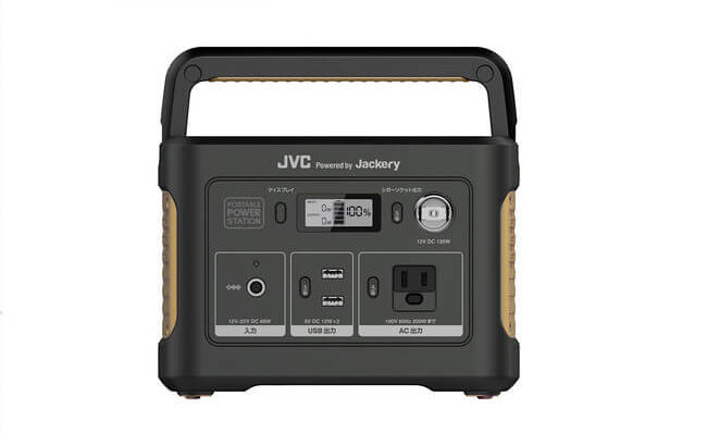JVC Powered by Jackery ポータブル電源「BN-RB37」を発売