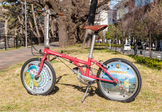 「ゆるキャン△」×「DAHON」コラボ自転車