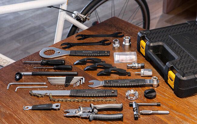 自転車工具セット「SIG-BX001」は高品質の台湾製で初心者から玄人にも対応した内容