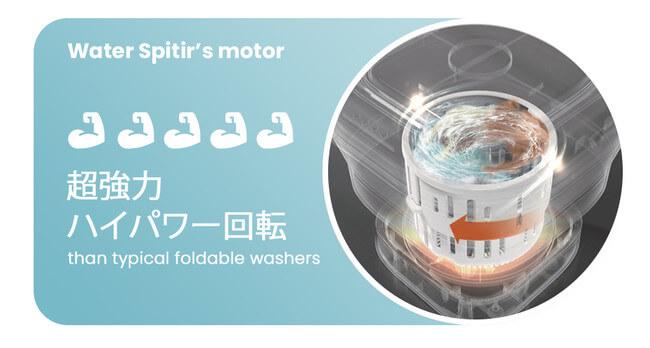 ポータブル洗濯乾燥機「ウォータースピティア」