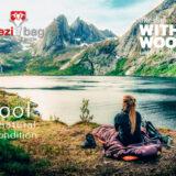 スリーピングバッグ「Grüezi bag」は羽毛とウールの新しい組み合わせ