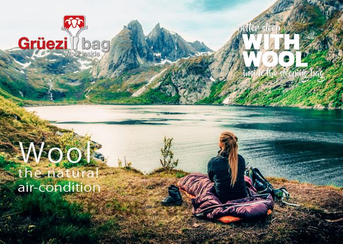 スリーピングバッグ「Grüezi bag」