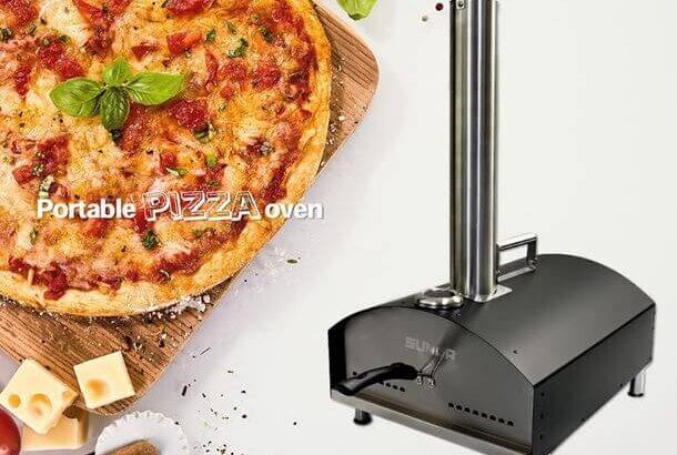 2分で焼ける!「ポータブル・ピザオーブン」を発売