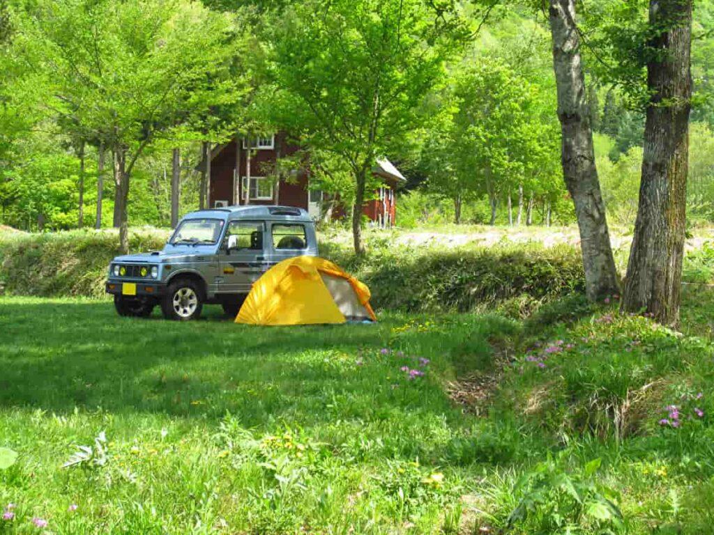 ジムニー キャンプ