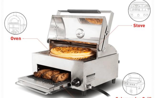 BBQグリルオーブン器「OVEN PLUS」で今こそおうちでアウトドア!無煙で火力が強い!