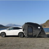 車と連結できるテント「CAREX カーレックス」でアウトドアの快適なキャンプを!