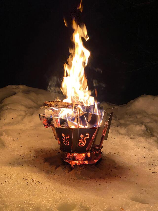 買ったら奥さんに怒られる焚き火台