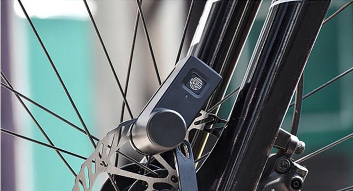 指紋認証 自転車ロック「WALSUN」はわずか0.5秒で解錠!自転車・バイクに鉄壁のセキュリティー