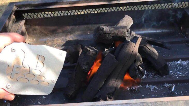モバイルバッテリーで動く火起こし器「フィンガーブラスター」はキャンプやバーベキューで大活躍!