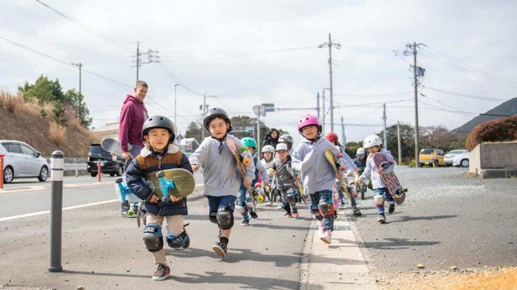 【選択型プリスクール取材記①】幼児期の英語教育 × スケートボードから見えるもの ~リアルタハラプリスクール~